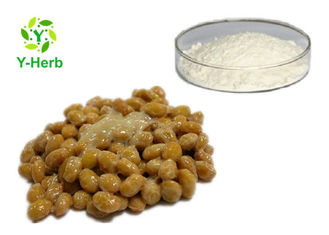 Freeze Dried Natto Extract Bulk Nattokinase Enzymes Powder Supplements 20000fu/g